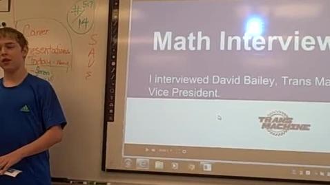 Thumbnail for entry Soren W math career