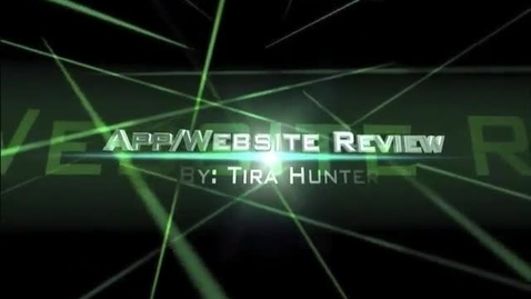 Thumbnail for entry Tira's App and Website Review
