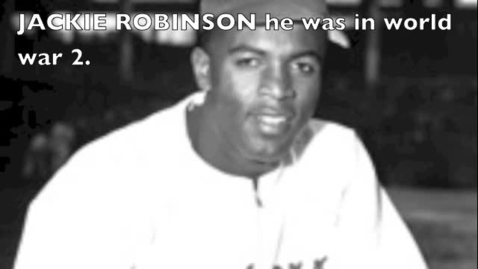 Thumbnail for entry Jackie robinson by.Collier