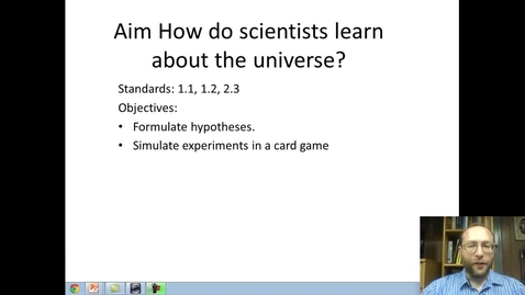 Thumbnail for entry How Scientists learn about the Universe