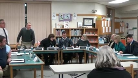 Thumbnail for entry January 25, 2016 School Board Meeting