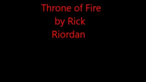 Thumbnail for entry Throne of Fire