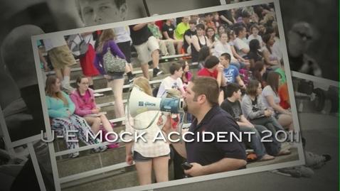 Thumbnail for entry U-E High School Mock DWI Accident