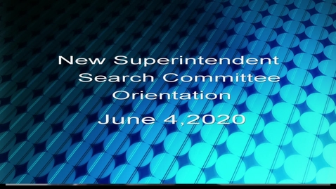 Thumbnail for entry Quincy's New Superintendent Search Committee