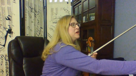 Thumbnail for entry Violin Gr 7 String Basics Pg.  30-31