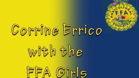 Thumbnail for entry FFA Interview, Cape May Tech Chapter