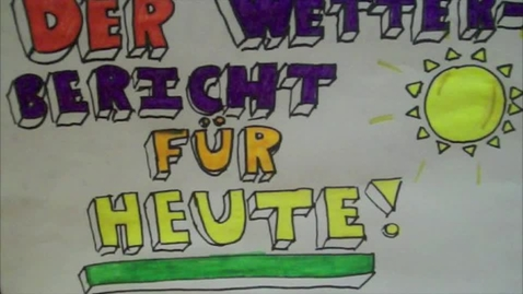 Thumbnail for entry Das Wetter!