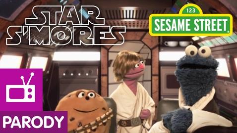 Thumbnail for entry Sesame Street: Star S'Mores (Star Wars Parody)
