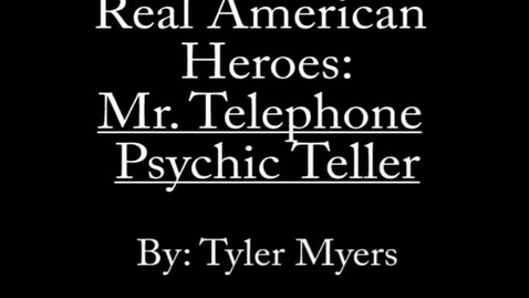 Thumbnail for entry Real American Heroes TM2