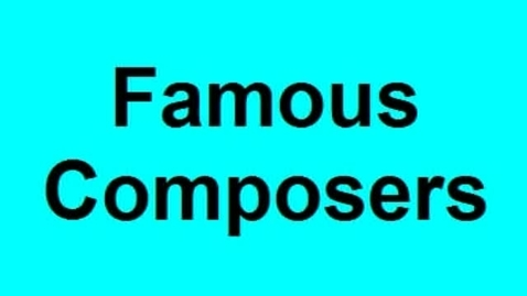 Thumbnail for entry Composers