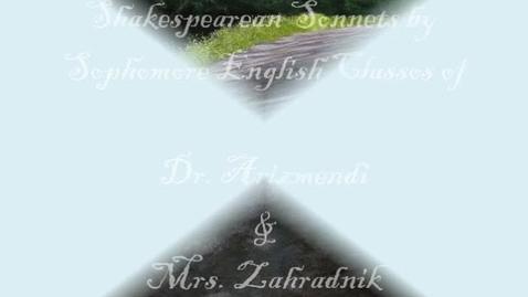 Thumbnail for entry Shakespeare Sonnets