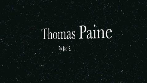 Thumbnail for entry Thomas Paine Repor