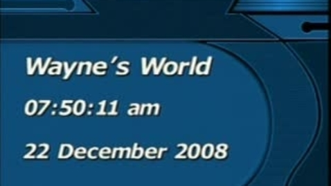 Thumbnail for entry Wayne's World 12/21/08