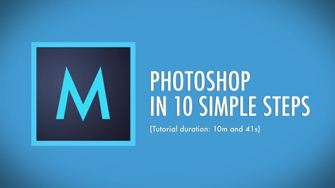 Thumbnail for entry Getting_started_with_Photoshop_in_10_minutes_(Beginners_Tutorial)