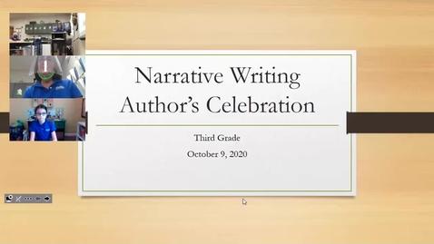 Thumbnail for entry Author's Celebration