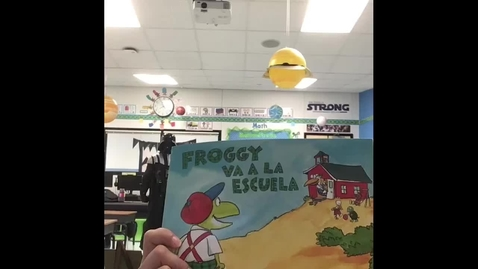 Thumbnail for entry Froggy va a la escuela