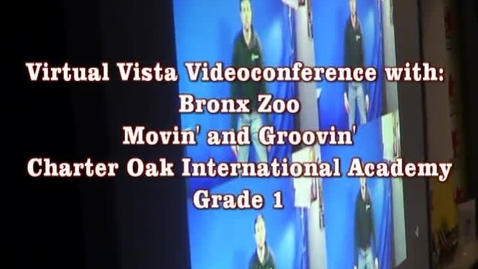 Thumbnail for entry Virtual Vistas Videoconferencing Bronx Zoo and Cleveland Museum of Art
