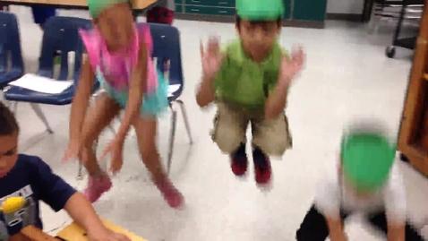 """Thumbnail for entry 14-15 Ms. Lapcheska's Kindergarten class """"Little Green Frog"""""""
