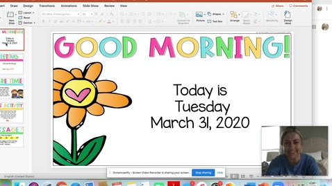 Thumbnail for entry March 31 Morning Meeting