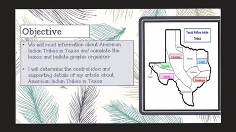 Thumbnail for entry Texas Indian Tribes