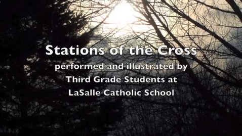Thumbnail for entry Stations of the Cross