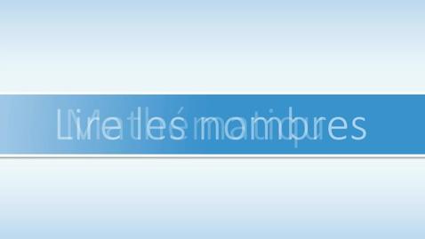 Thumbnail for entry Lire les nombres  - L & R