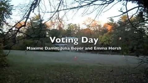Thumbnail for entry Voting Day