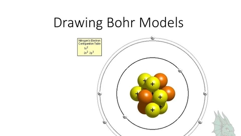 Thumbnail for entry Drawing Bohr Models