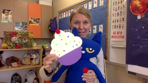 Thumbnail for entry Story Time: Pete the Cat and the Missing Cupcakes