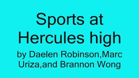 Thumbnail for entry hercules titans sports