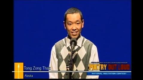"""Thumbnail for entry Tong Thao Recites """"History Lesson"""" by Natasha Trethewey at POL Nationals"""