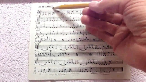 Thumbnail for entry End Zone 2nd clarinet pt 1