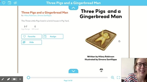Thumbnail for entry Three Little Pigs and the Gingerbread Man
