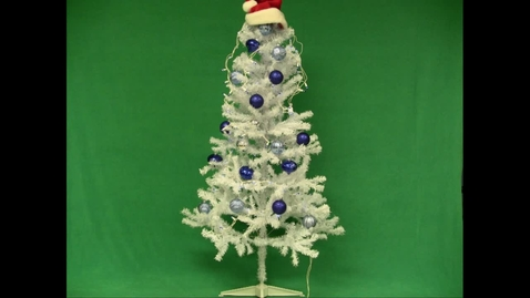 Thumbnail for entry A Christmas Stop Motion: Putting Up the Tree