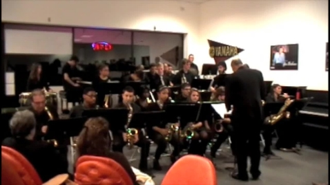 Thumbnail for entry Greg Abate With RHS Jazz Ensemble - Peter Gunn