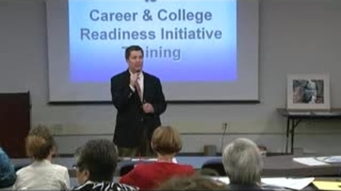 Thumbnail for entry Training for Secondary Counselors and Diagnosticians