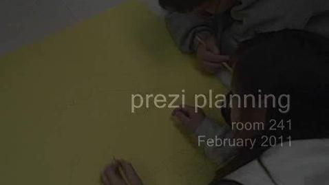 Thumbnail for entry Prezi Planning