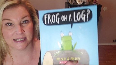"Thumbnail for entry ""Frog on a Log?"""