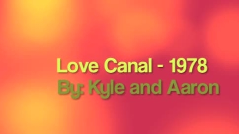 Thumbnail for entry Love Canal 1978