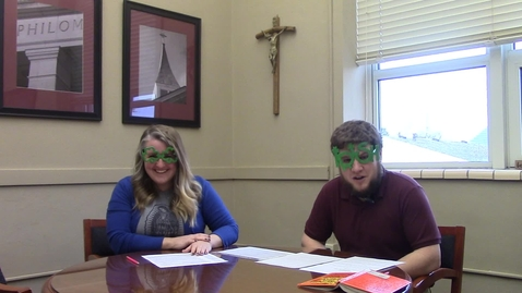 Thumbnail for entry St. Philomena Morning Announcements for March 17