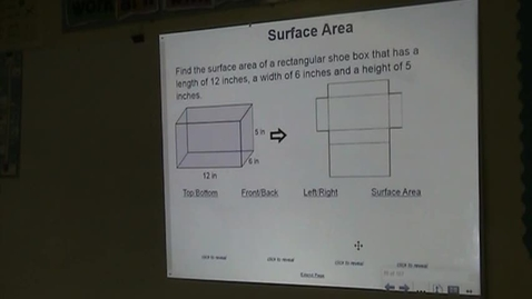 Thumbnail for entry PA Lesson 12-5 Surface Area of Prisms