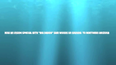 Thumbnail for entry ROCKLIN HIGH SCHOOL SAM WOODS SIGHNING