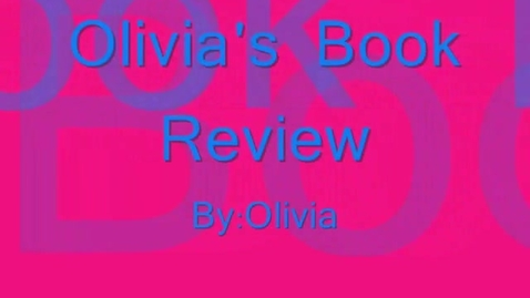 Thumbnail for entry Hollingsworth:  Olivia