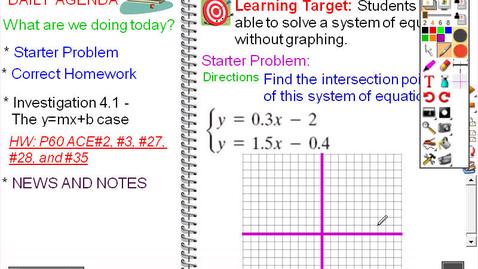 Thumbnail for entry CMP8 - SOA Lesson 4.1 - Solving Using Equivalence