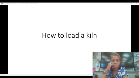 Thumbnail for entry How to load a kiln