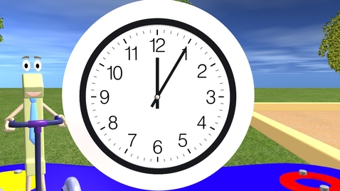 Thumbnail for entry Telling Time For Children - Learning the Clock