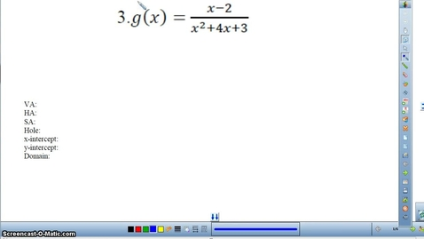 Thumbnail for entry Rational Functions HW worksheet