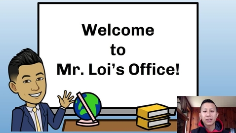 Thumbnail for entry Principal Loi's Message to Students: April 10, 2020