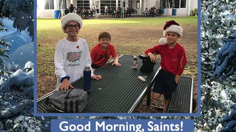 Thumbnail for entry Saints @ 8 - January 15, 2021
