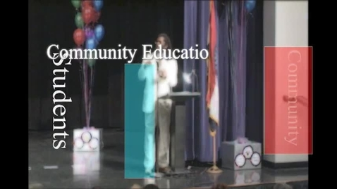 Thumbnail for entry SLPS Community Education Awards 2013